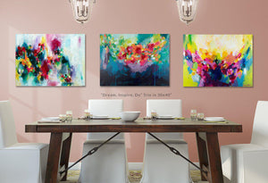 Dream, Inspire, Do - Set of 3 Fine Art Print Bundle
