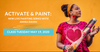 Activate & Paint: Live Painting Workshop with Amira Rahim
