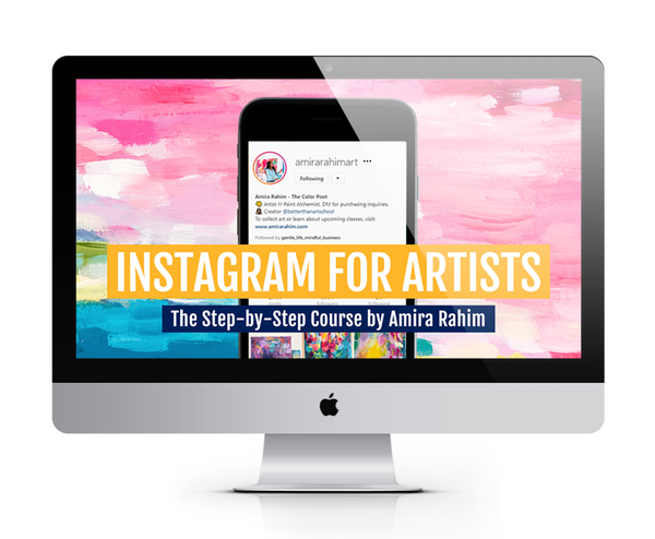 Instagram for Artists (Course + Bonuses!)