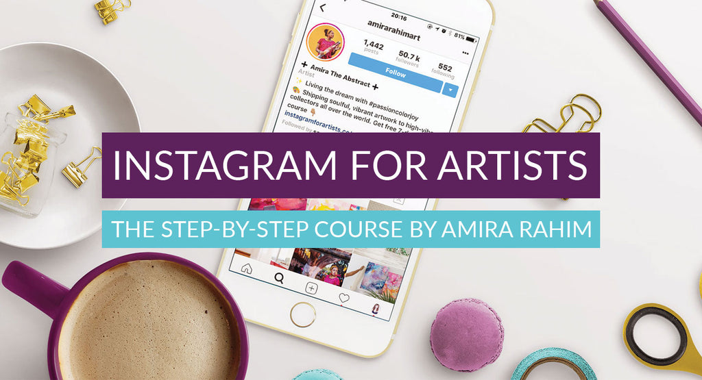 Instagram for Artists VIP (Course + Bonuses!)