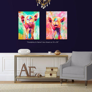 Humphrey & Hanna Duo - Set of 2 Fine Art Print Bundle