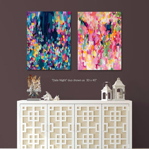 Date Night Duo - Set of 2 Fine Art Print Bundle