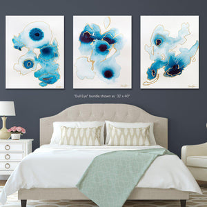 Evil Eye - Set of 3 Fine Art Print Bundle