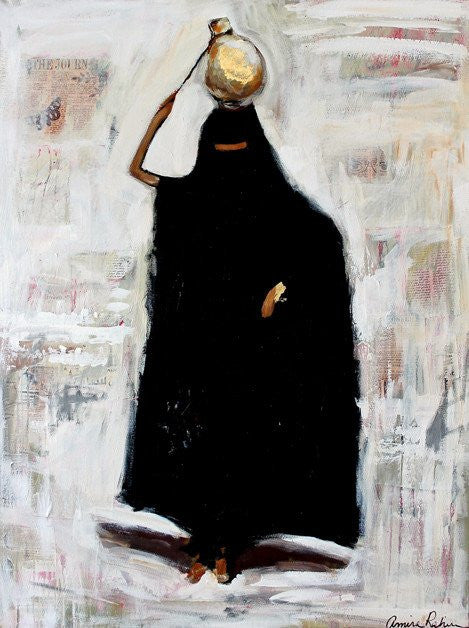 Bedouin in Gold - Commission an Original
