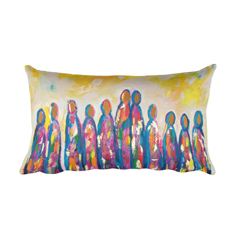 Love Amongst Us - Rectangular Pillow