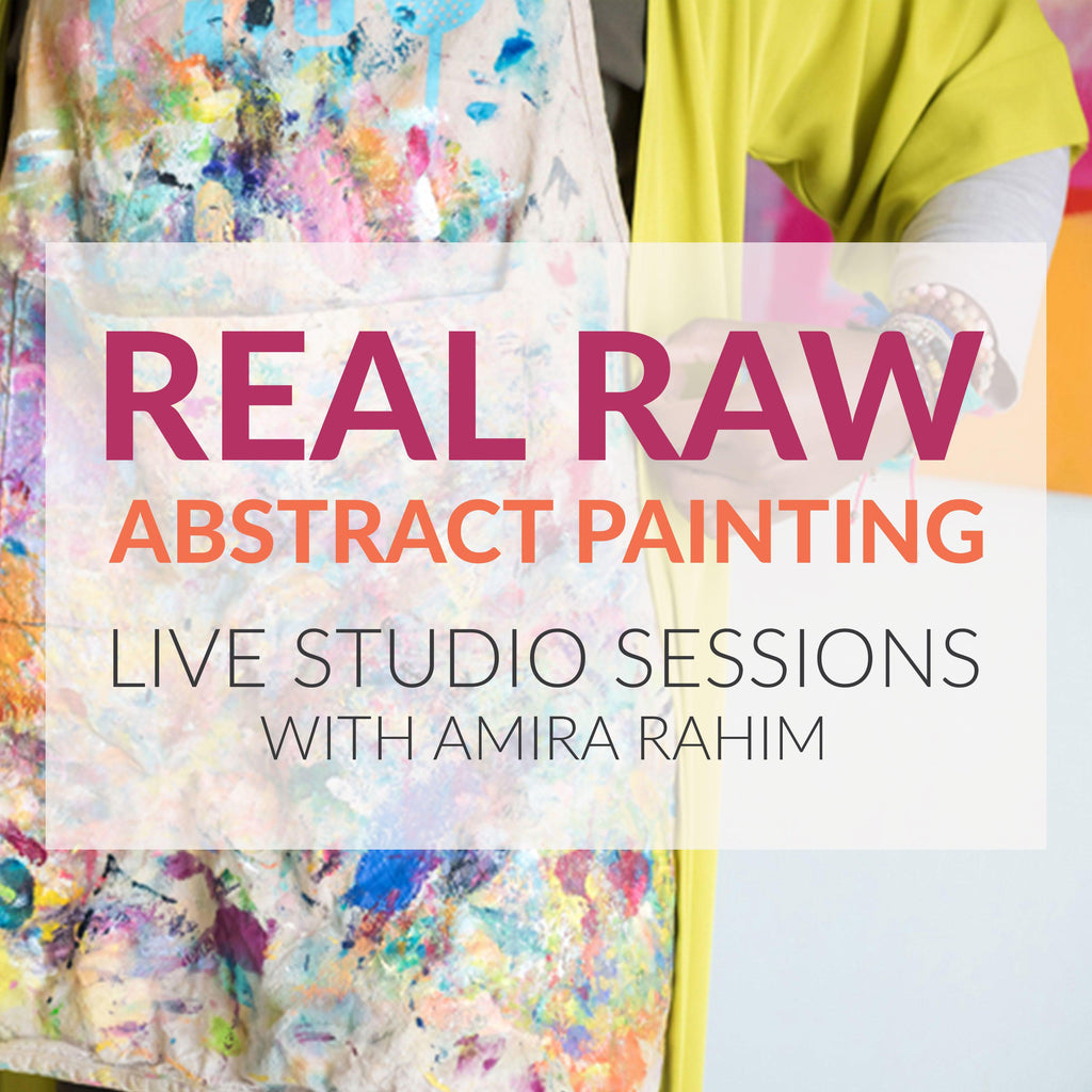 Real, Raw Abstract Painting - Final Session January 24, 2018