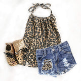 """Leopard"" Shorties"