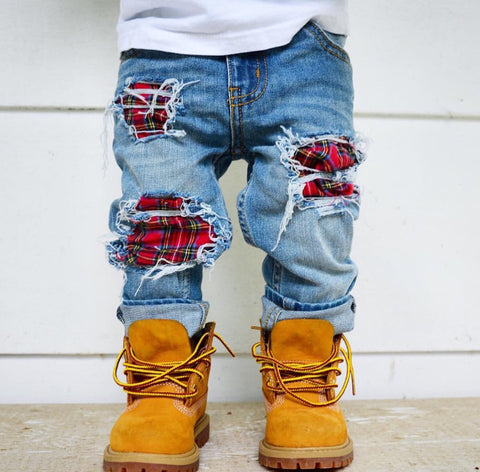 Flannel Skinny