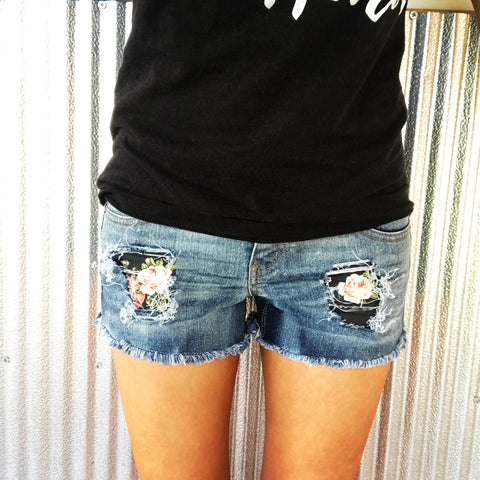 """Rose Garden Shorties"" women's"