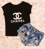 """CHANEL"" top kids"