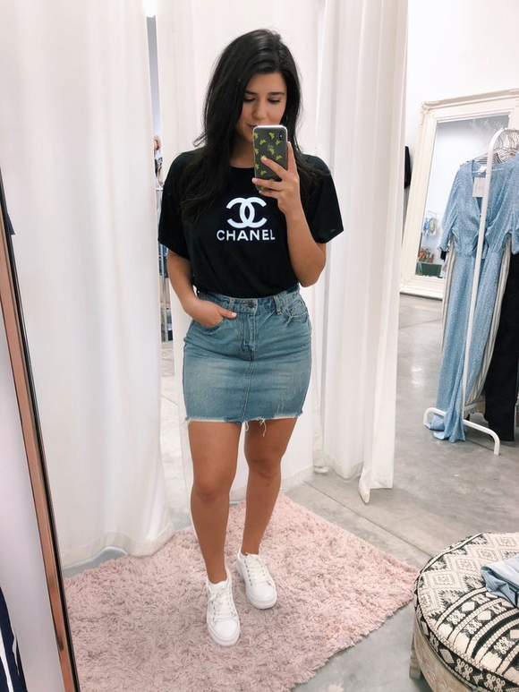 """CHANEL"" top women's"