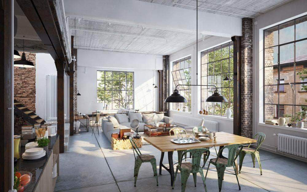 How To Create The Industrial Style In Your House Or Flat