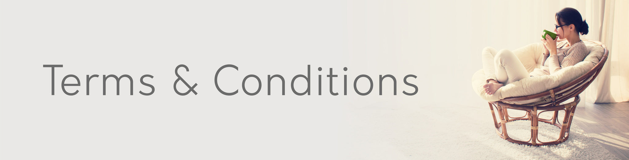 Furniture terms and conditions