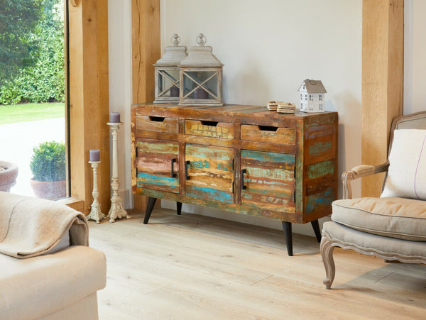Reclaimed wood sideboards