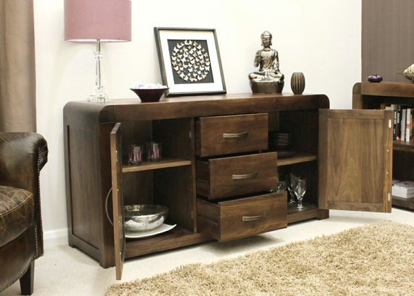 Walnut sideboards