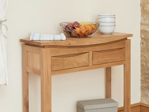 Allbrook Light Oak Console Table