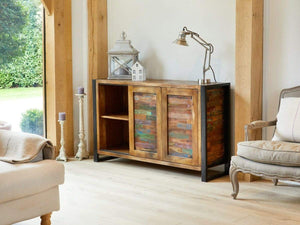 Asia Reclaimed Wood Sideboard