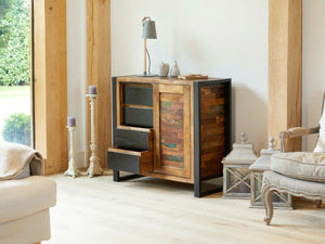 Asia Reclaimed Wood Storage Cabinet