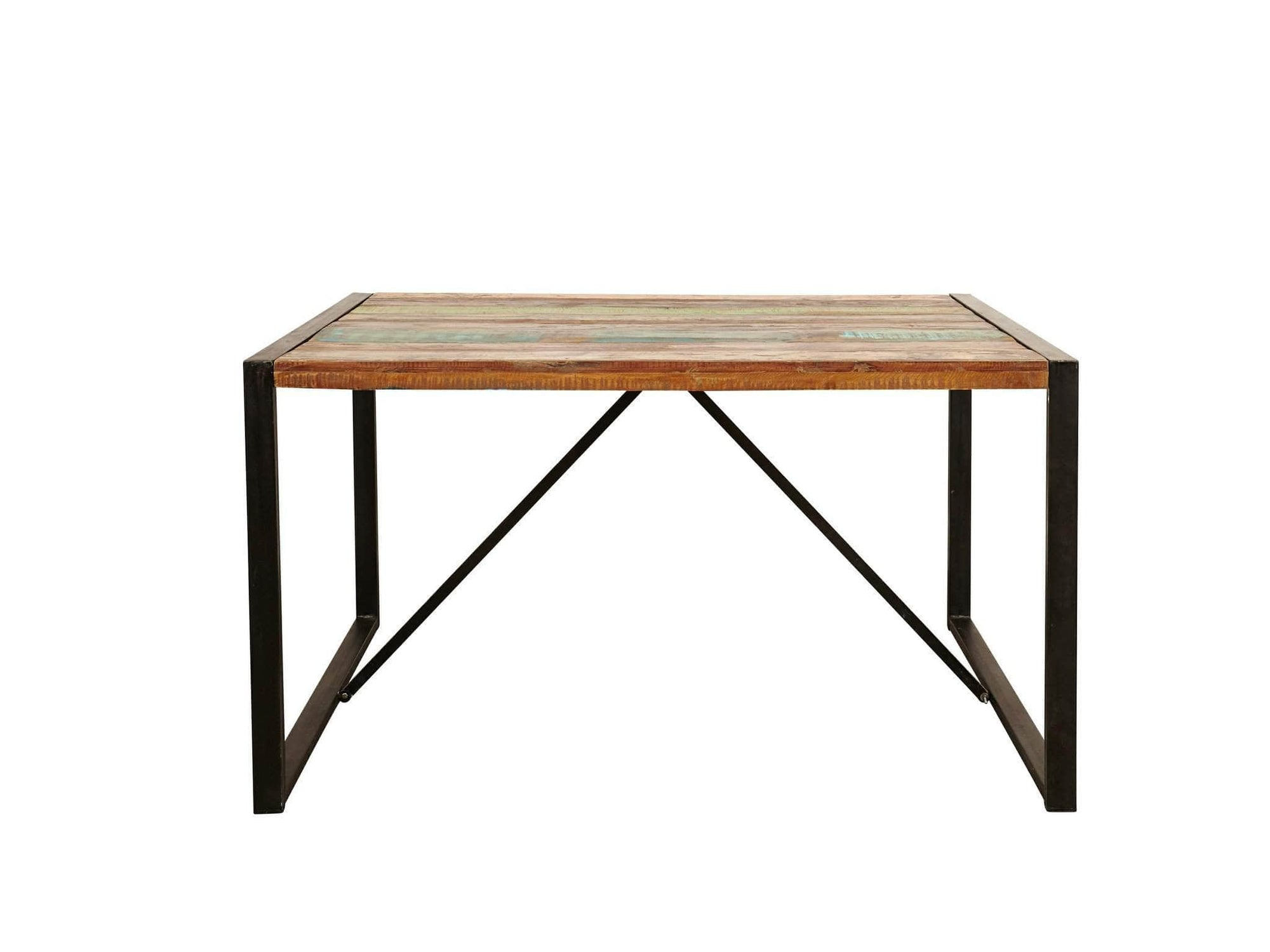 Asia small reclaimed wood dining table