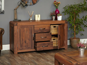 Sola Solid Walnut Sideboard - Large