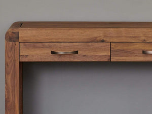 Sola Walnut Console Table