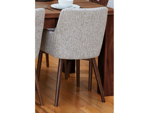 Sola Contemporary Light Grey Dining Chairs - Set of 2
