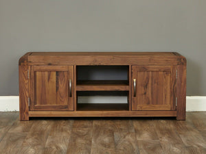 Sola Solid Walnut TV Stand - Large