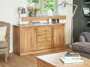 Obell Solid Oak Sideboard - Large