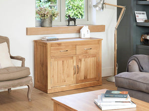 Obell Solid Oak Sideboard - Small