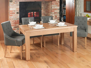 Obell Extending Solid Oak Dining Table