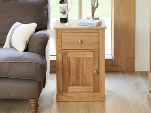 Obell Solid Oak Side Table