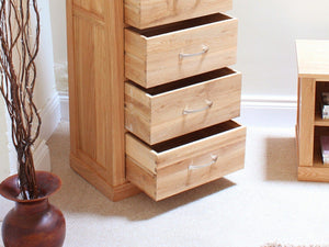 Obell Solid Oak Tallboy