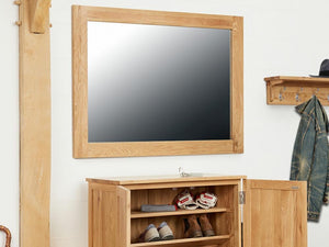 Obell Solid Oak Frame Mirror
