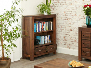 Orsina Solid Walnut Bookcase - Small