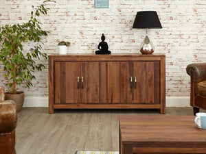 Orsina Solid Walnut Sideboard - Large