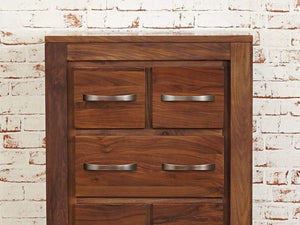 Orsina Walnut DVD / CD Storage Chest