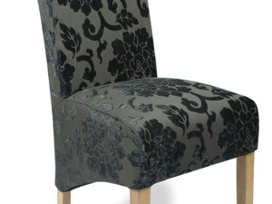 Eltham Floral Velvet Dining Chairs - Set of 2