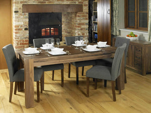 Solid Walnut Dining Table - Large