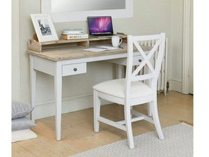 Farmhouse Grey Painted Desk / Dressing Table