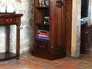 Laddingford Mahogany Bookcase - Narrow