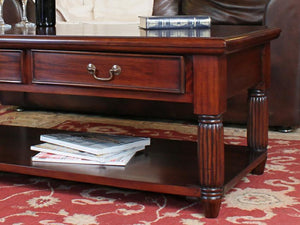 Laddingford Mahogany Coffee Table