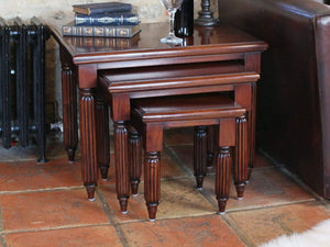 Laddingford Mahogany Nest of Tables