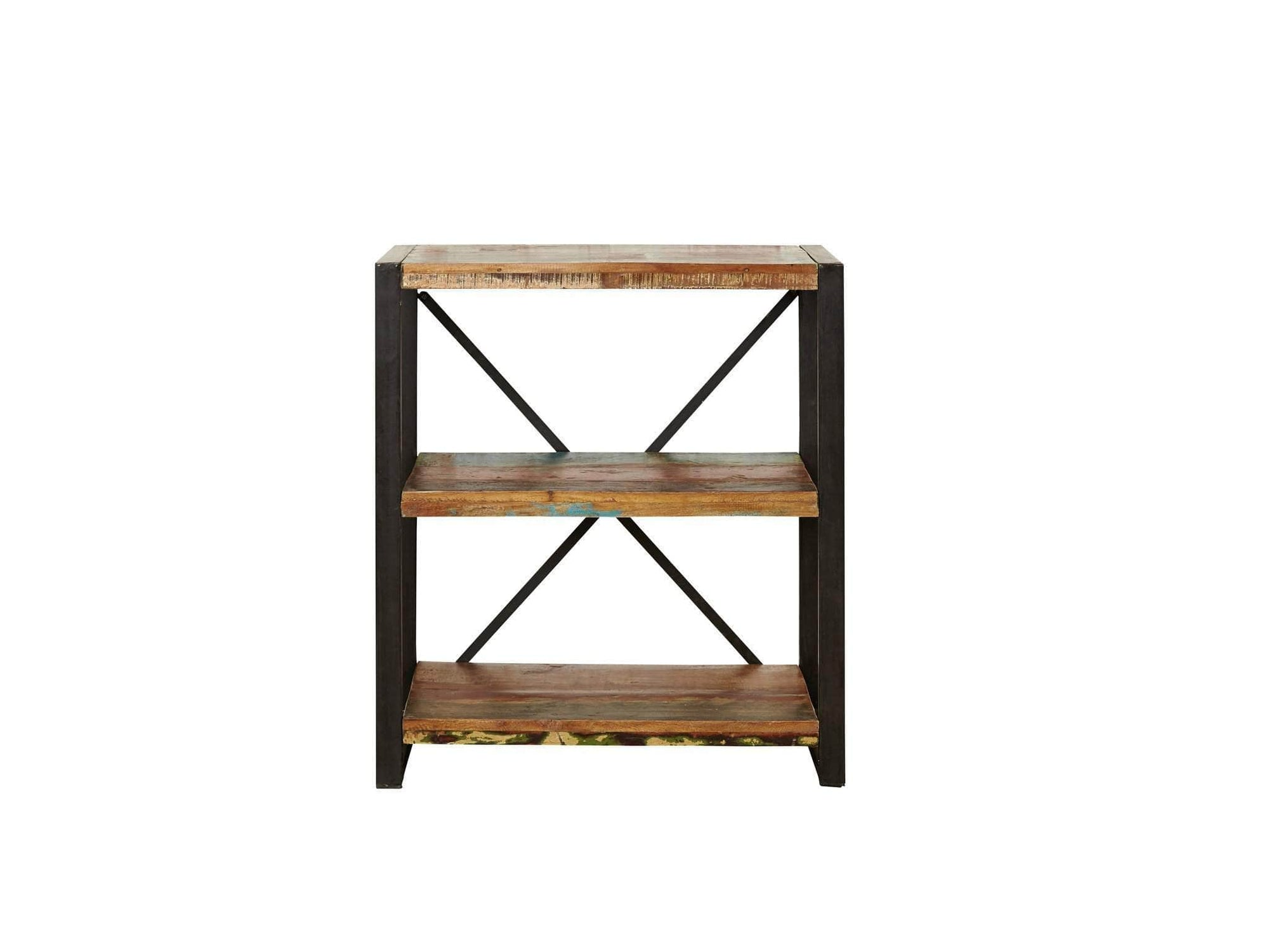 Small reclaimed wood bookcase