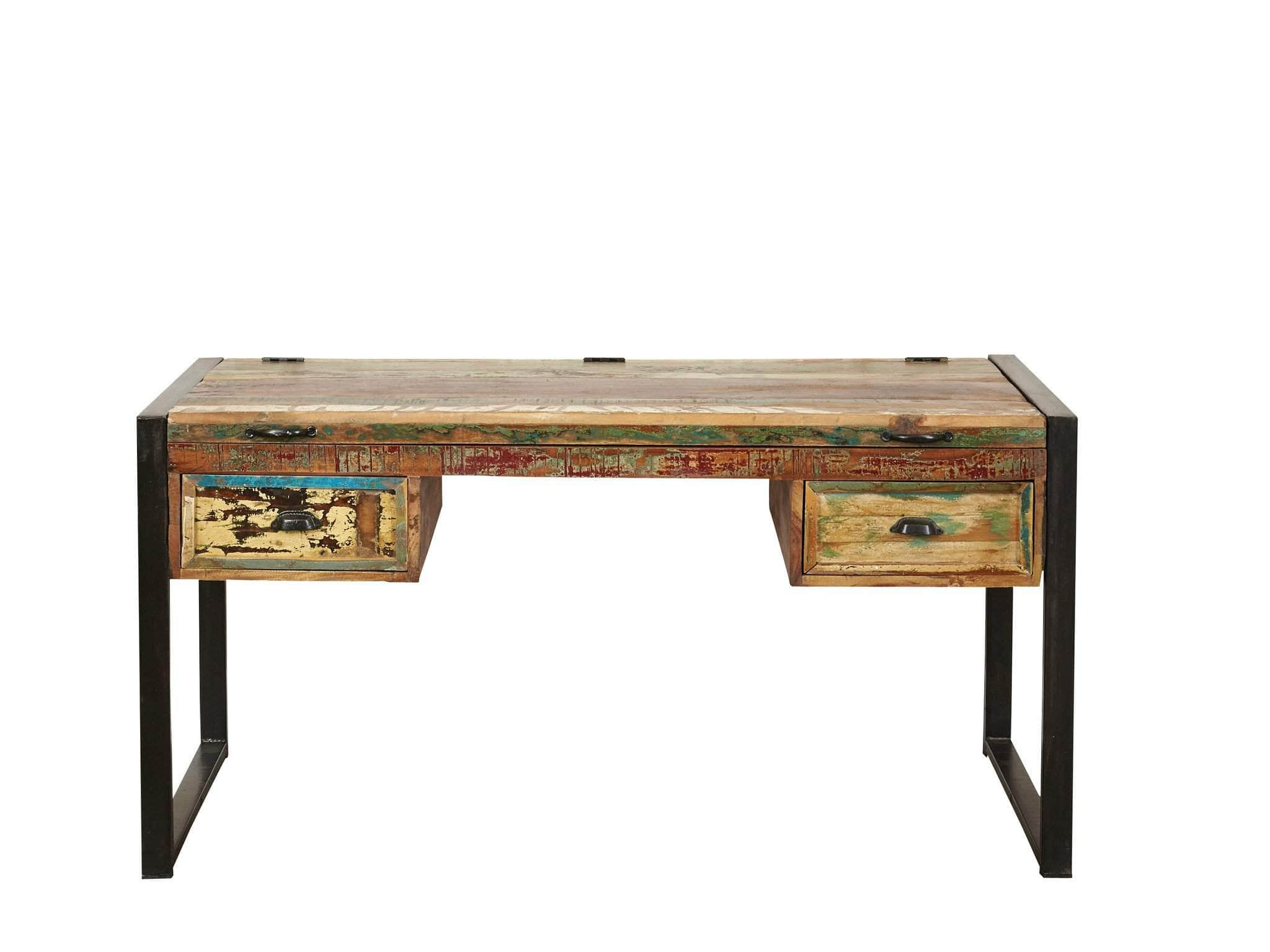 official photos 08f0c 665c1 Asia Reclaimed Wood Desk / Dressing Table