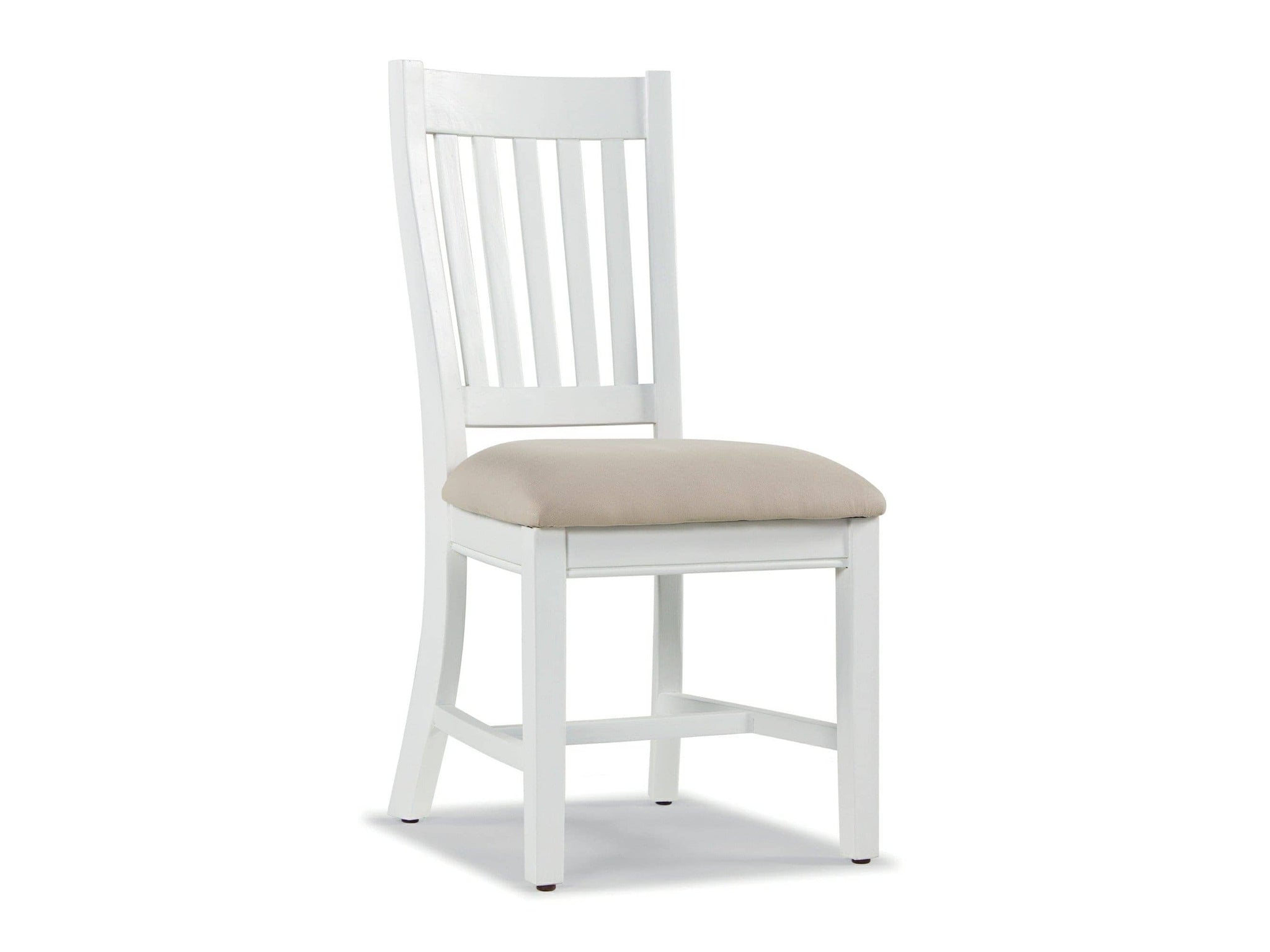 Farmhouse Style White Painted Dining Chairs Greenway Furniture