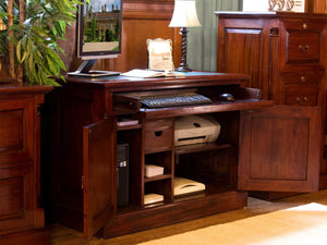 Laddingford Mahogany Hideaway Desk