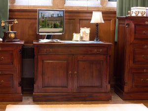 Laddingford Solid Mahogany Hidden Home Office