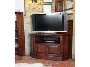 Laddingford Mahogany Corner TV Cabinet