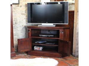 Laddingford Mahogany Corner TV Unit
