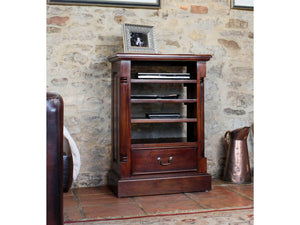 Laddingford Mahogany Hi-Fi Unit